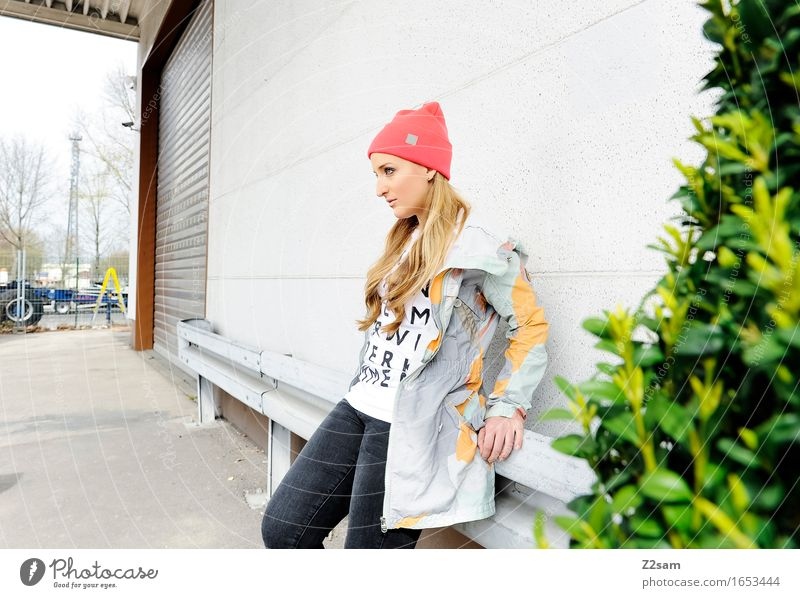 Youth (Young adults) City Beautiful Colour Young woman House (Residential Structure) 18 - 30 years Adults Feminine Style Lifestyle Healthy Fashion Design