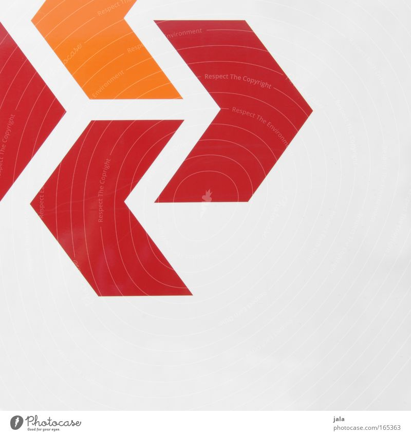 White Red Gray Line Orange Signs and labeling Information Arrow Direction Signage Road marking Symbols and metaphors Warning sign