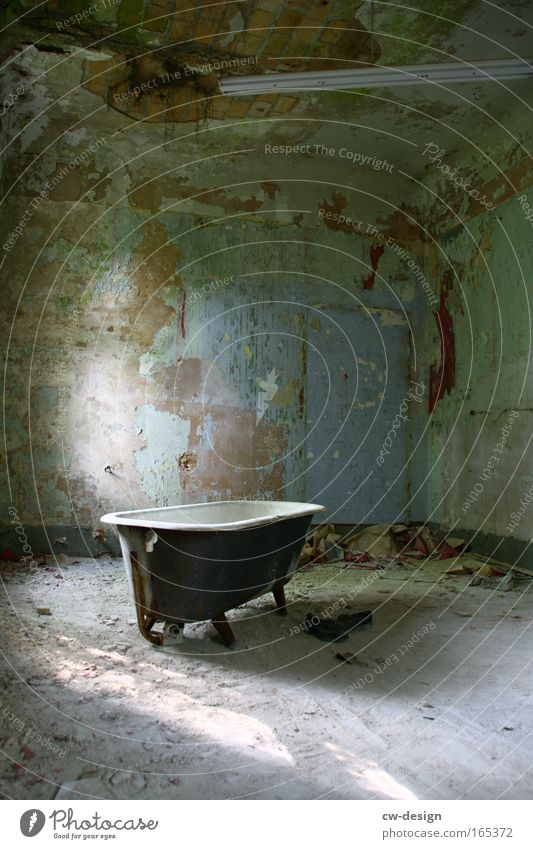 Old Loneliness Dark Gray Brown Room Dirty Esthetic Retro Gloomy Bathroom Broken Threat Transience Trashy Past
