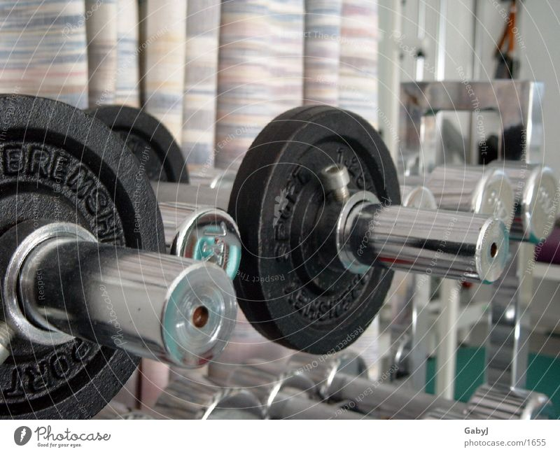 dumbbells Dumbbell Weight-lifting Heavy Sports Metal physiotherapists physiotherapy Back pain Power Energy industry intervertebral discs strong