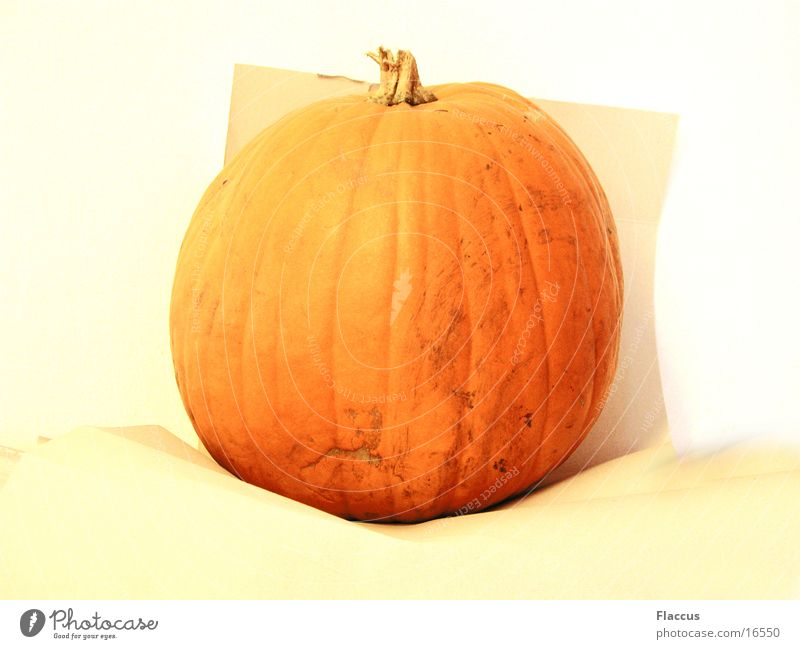 Healthy Hallowe'en Pumpkin