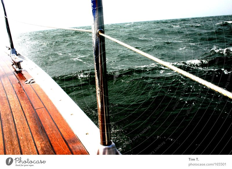 Water Ocean Summer Vacation & Travel Far-off places Freedom Waves Trip Adventure Sailing Baltic Sea Aquatics Cruise Summer vacation To swing