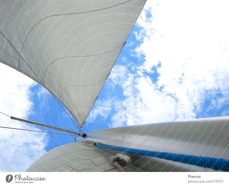 Sky Clouds Sports Lake Wind Sailing Sail