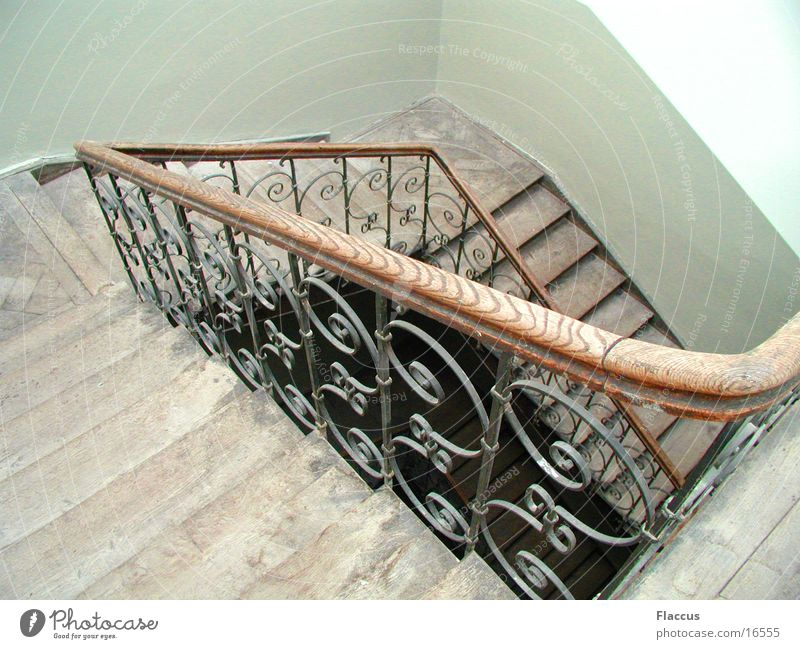 stairwell Staircase (Hallway) Banister Curlicue Living or residing Stairs