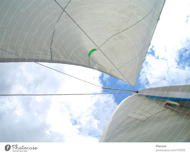 Sky Clouds Sports Lake Wind Sailing
