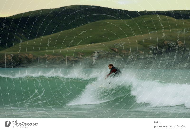 ...YEEEEEEAAAHHH...III New Zealand Surfer Surfboard Jump Summer Aquatics Sports Joy Waves Landscape p.b. damon early in the morning Sun