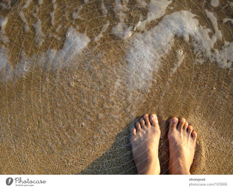 a long trip Woman Water Vacation & Travel Summer Ocean Joy Beach Calm Adults Life Freedom Feet Waves Trip Lifestyle Serene