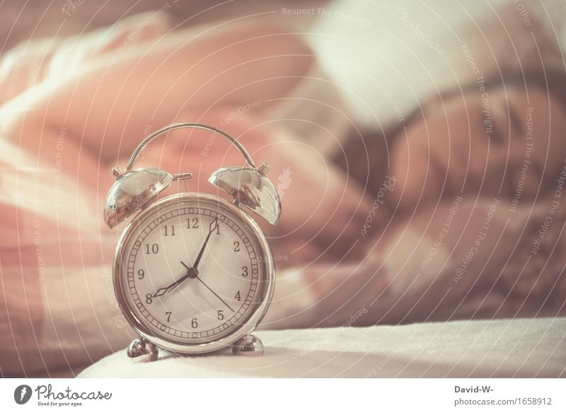 overslept? Elegant Healthy Health care Relaxation Calm Bedroom School Student Human being Child Young woman Youth (Young adults) Woman Adults Infancy Life Sleep