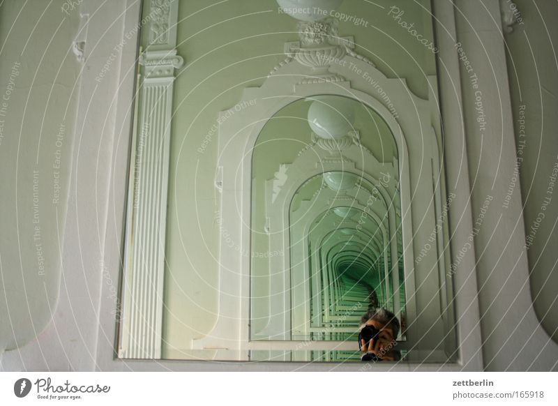 House (Residential Structure) Architecture Building Perspective Manmade structures Camera Infinity Mirror Castle Double exposure Staircase (Hallway) Foyer Tourist Attraction Photographer Take a photo