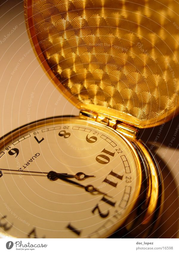 golden_times_2 Fob watch Time Digits and numbers Second hand Flap Transience Light Nostalgia Pattern Clock Things Gold Moody Shadow Chain Detail
