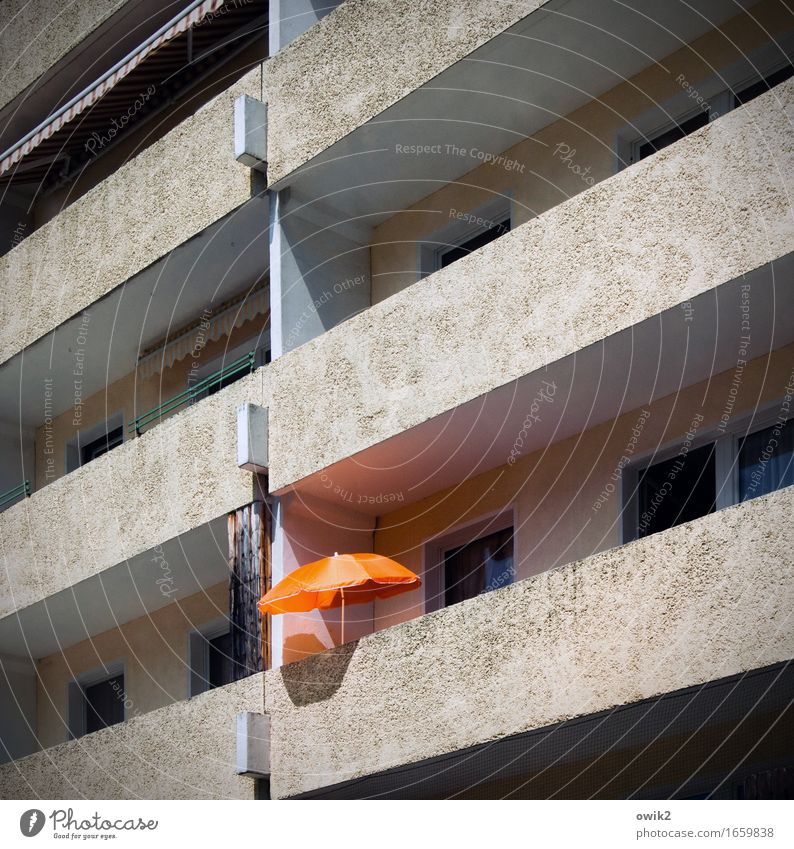 Vacation & Travel Relaxation Calm House (Residential Structure) Window Happy Freedom Moody Facade Orange Contentment Leisure and hobbies Illuminate Idyll High-rise To enjoy