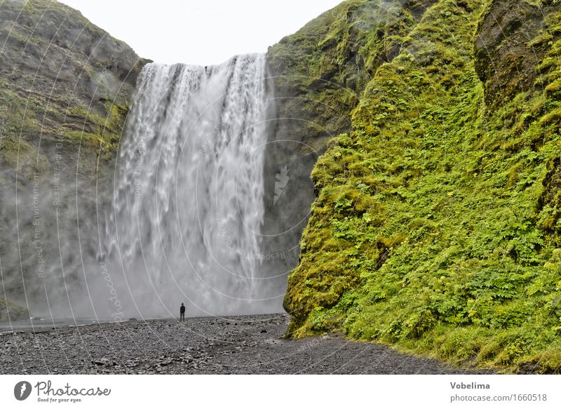 Nature Green Water White Landscape Gray Brown Tourism Adventure Elements Sightseeing Waterfall
