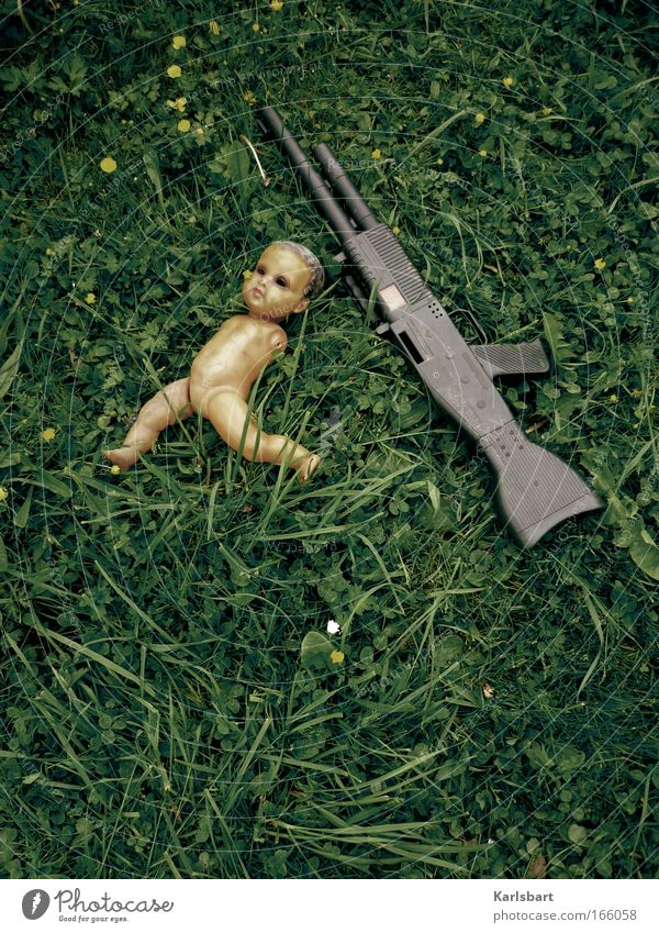 toy 2.0. Infancy Environment Meadow Toys Doll Fight Playing Sadness Authentic Threat Hideous Emotions Fairness Hope Grief Death Fear Hatred War Transience Rifle