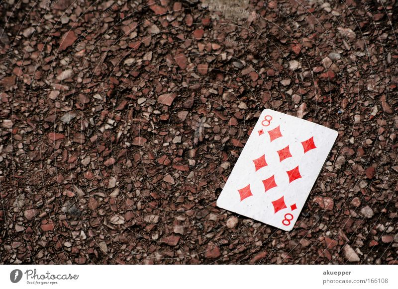 White Red Street Playing Boredom Crossroads Playing card Toys Skat