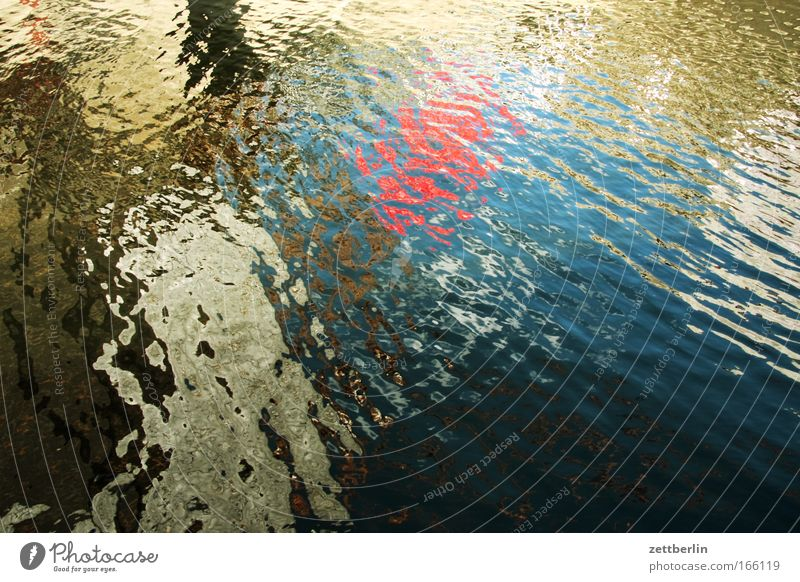 Water Colour Lake Think Waves River Navigation Pond Chaos Surface Body of water Copy Space Channel Pattern Waterway Coincidence