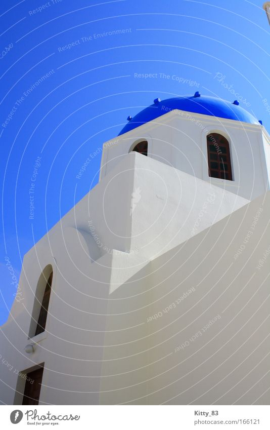White Ocean Blue Black Freedom Contentment Architecture Facade Europe Hope Esthetic Island Roof Culture Infinity