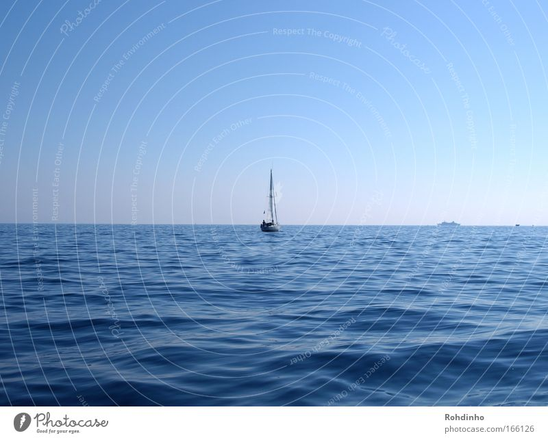 Water Sky Ocean Summer Joy Calm Far-off places Relaxation Happy Air Watercraft Adventure Serene Sailing To enjoy