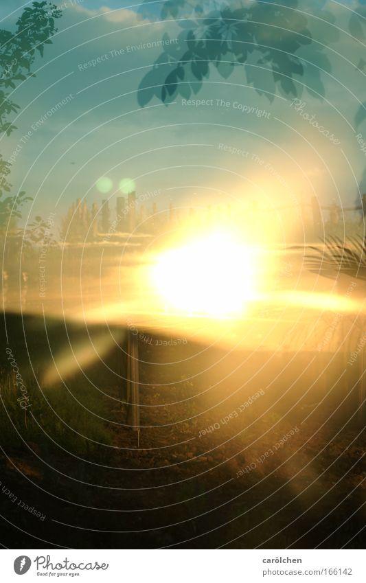 Sun Warmth Glittering Fog Fire Threat Hot Lightning Abstract