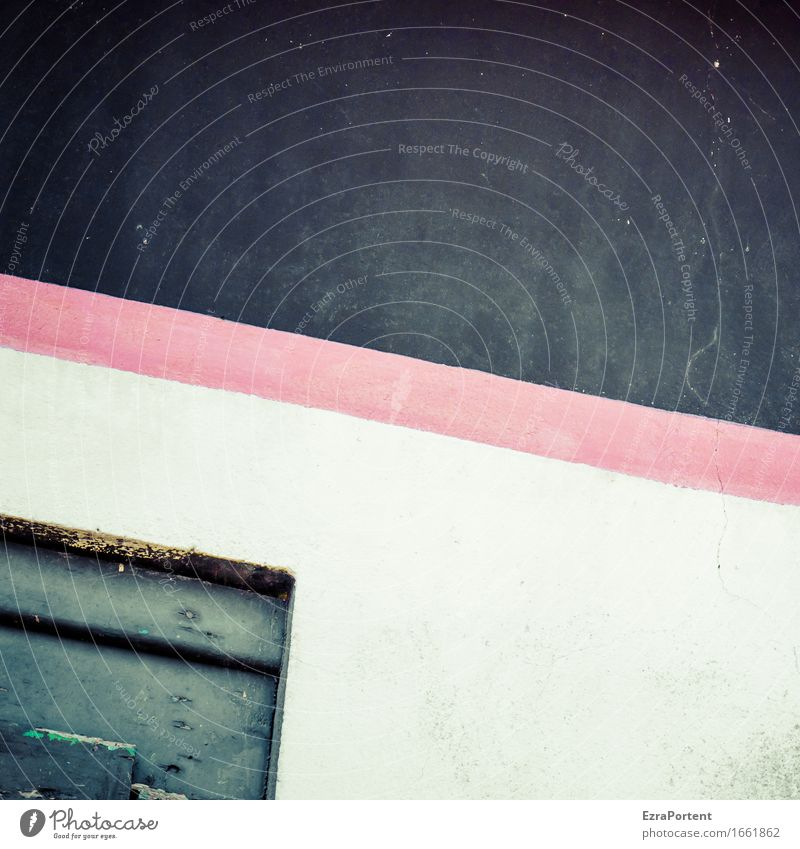 Old Colour White Red House (Residential Structure) Wall (building) Background picture Wall (barrier) Line Facade Design Gloomy Illustration Stripe Graphic