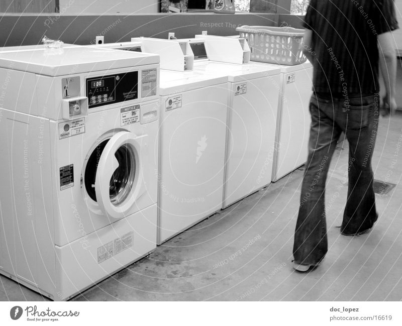 laundry_room_shot_1 Laundromat Washer Tumble dryer Flares Things laundry room USA everyday scene Black & white photo Laundry basket