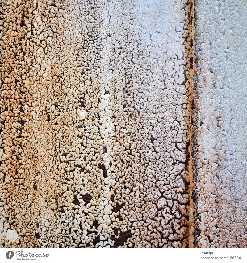 rusty Colour photo Subdued colour Abstract Pattern Structures and shapes Exotic Metal Rust Old Exceptional Dirty Uniqueness Crazy Bizarre Complex Whimsical