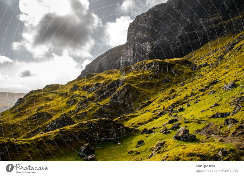 The Quiraing, Isle of Skye, Scotland Healthy Life Calm Vacation & Travel Adventure Far-off places Freedom Expedition Island Mountain Hiking Climbing