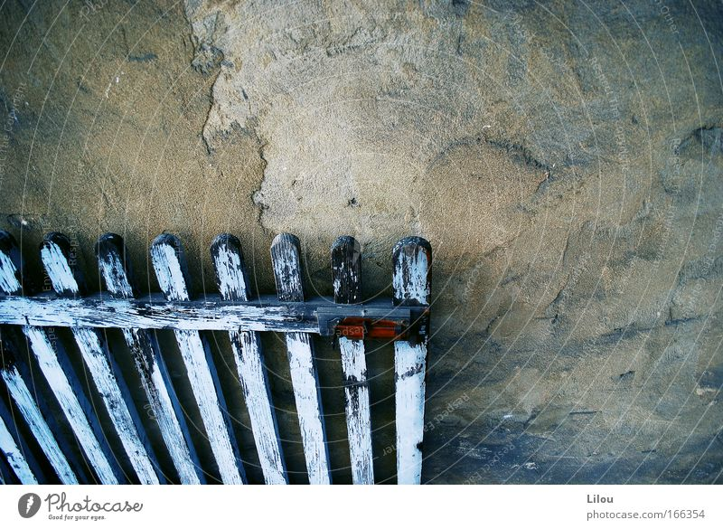 Old White Blue Colour Wood Gray Stone Brown Metal Door Gate Derelict Rust Lock Fence Flake off