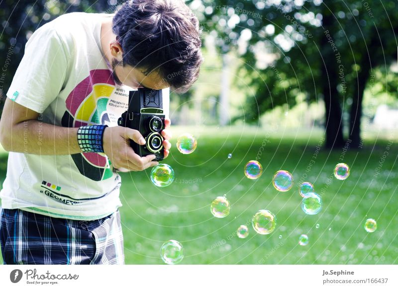his magic marvel Lifestyle Leisure and hobbies Young man Youth (Young adults) 18 - 30 years Adults Artist Photographer Photography Camera Take a photo