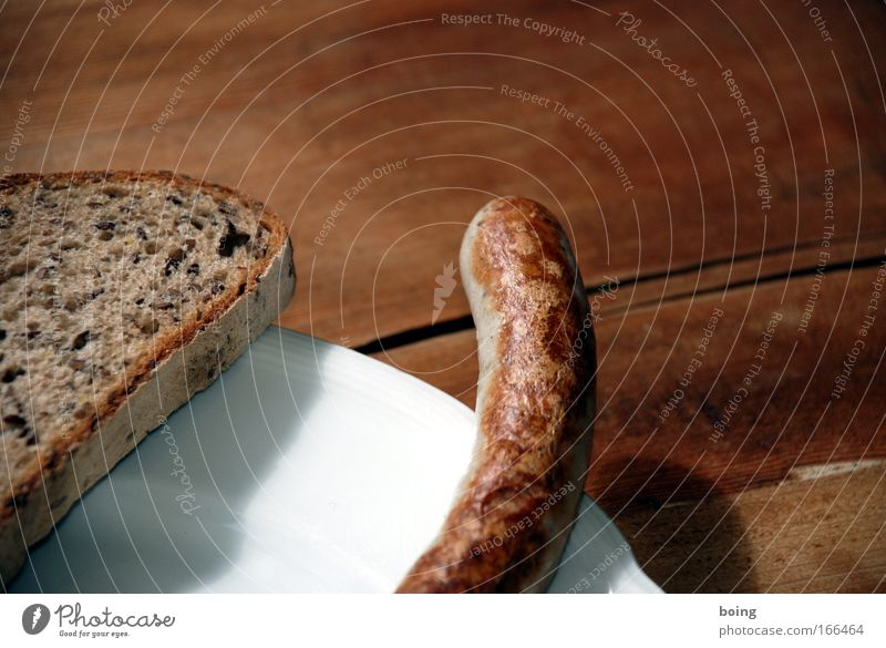 tail Detail Shallow depth of field Food Meat Sausage Bread Nutrition Dinner Buffet Brunch Organic produce Finger food Plate Harmonious Well-being Contentment