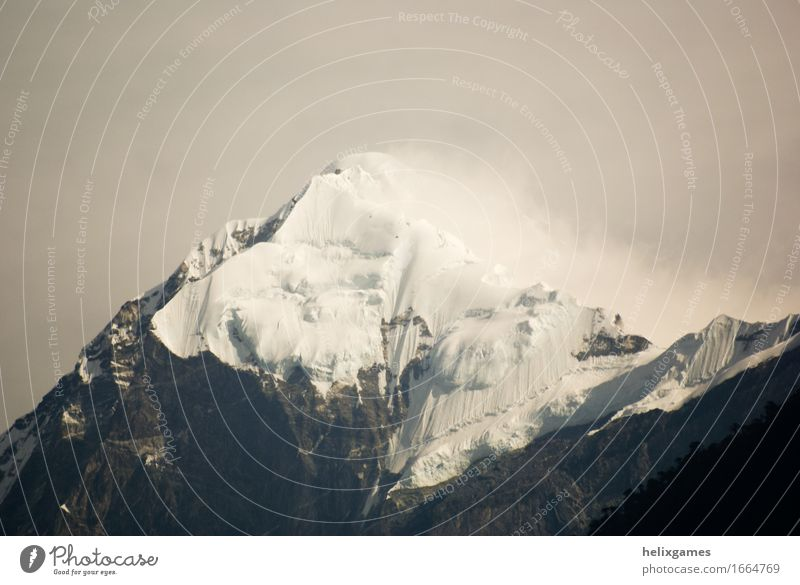 Pandim Vacation & Travel Tourism Trip Adventure Expedition Camping Snow Mountain Climbing Mountaineering Environment Nature Landscape Himalayas Peak Glacier