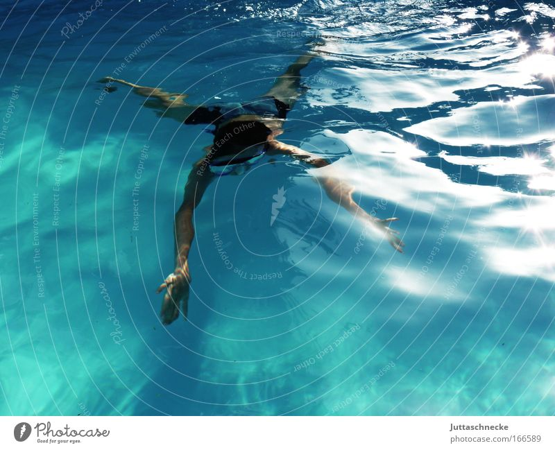 Human being Water Summer Sports Contentment Waves Healthy Free Fresh Swimming pool Dive Swimming & Bathing Infinity Infancy Brave Harmonious