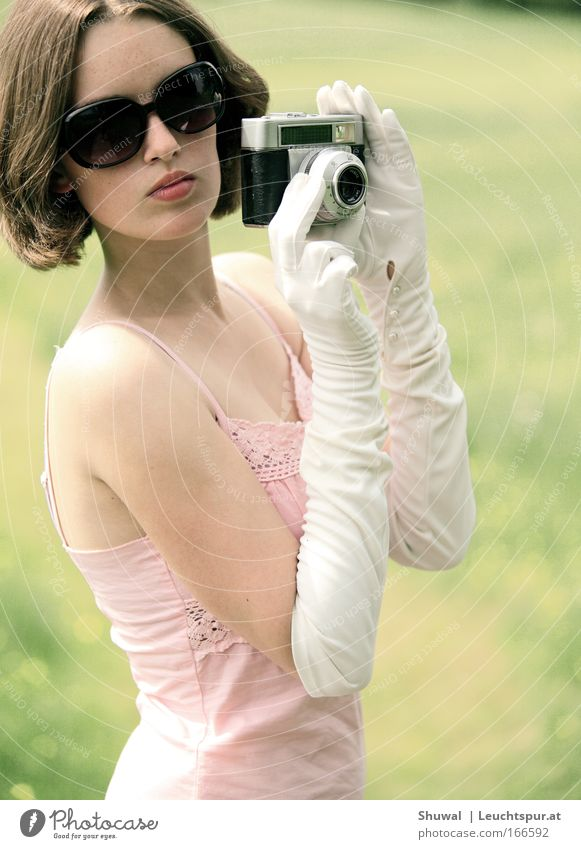 pink, white and a touch of pale green Subdued colour Portrait photograph Upper body Elegant Style Senses Fragrance Vacation & Travel Tourism Sightseeing Summer
