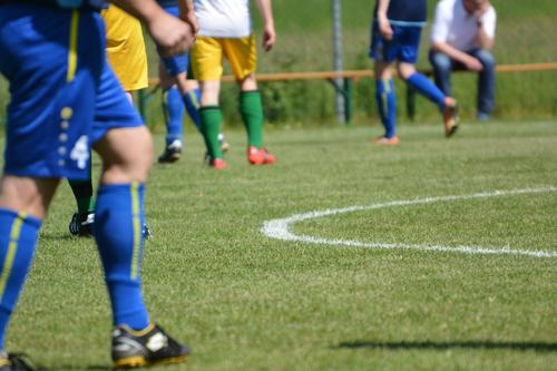 Human being Youth (Young adults) Man Blue Green Young man Adults Yellow Sports Legs Group Masculine Leisure and hobbies Gold Soccer Sports team