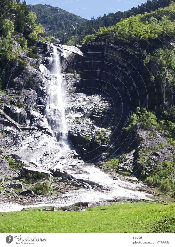 waterfall Waterfall Mountain