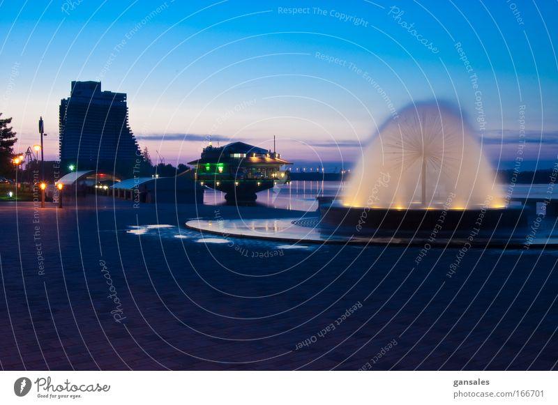 night quay Water Beautiful City Joy Happy Park Building Moody Large Facade Places Romance Globe