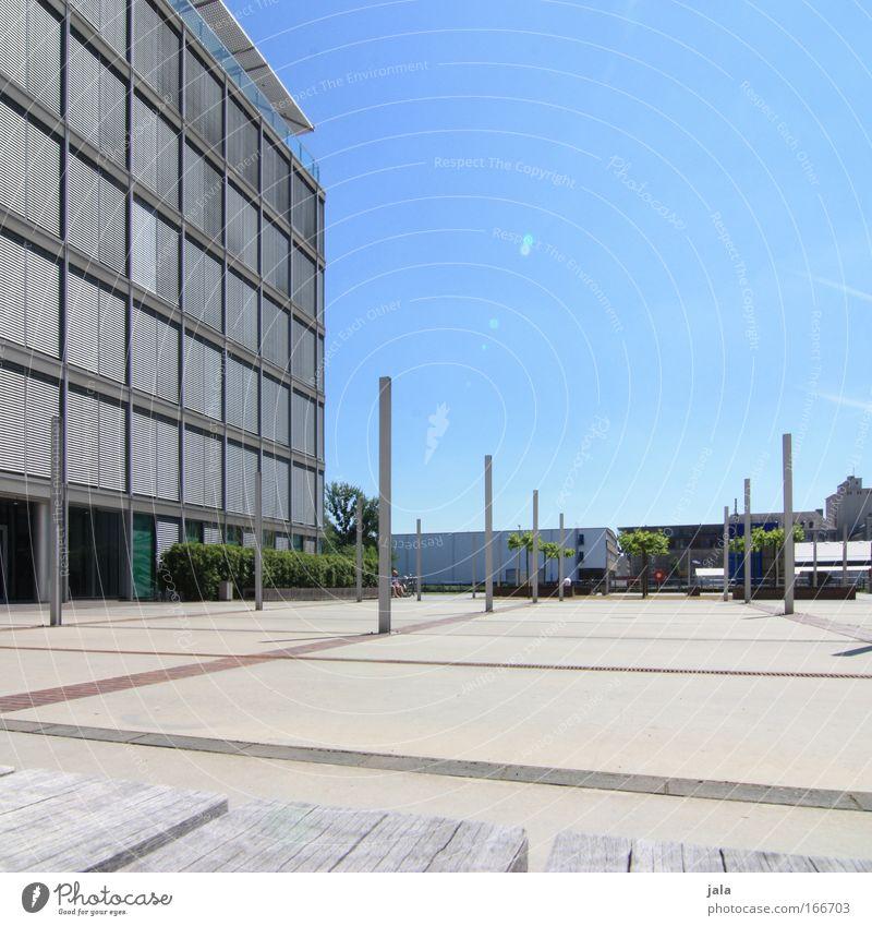 [PC-Usertreff Ffm]: The Free Space Colour photo Exterior shot Day Light (Natural Phenomenon) Sunlight Central perspective Sculpture Sky Foliage plant Frankfurt
