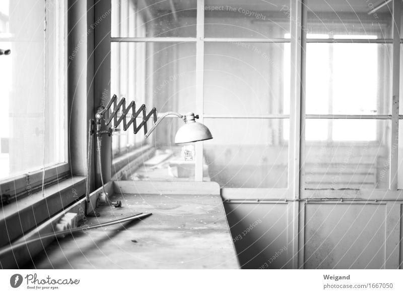House (Residential Structure) Architecture Interior design Lifestyle Art Gray Lamp Flat (apartment) Elegant Profession Factory Desk Workshop
