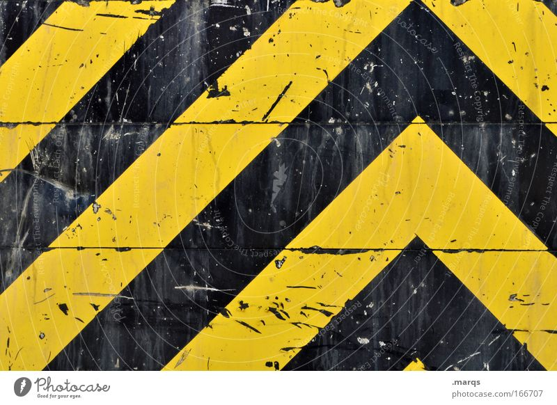 //\ Colour photo Exterior shot Detail Pattern Long shot Style Design Transport Passenger traffic Logistics Road traffic Metal Sign Signage Warning sign Line
