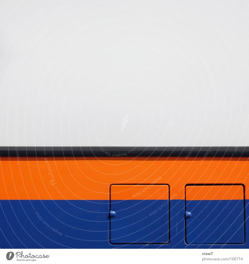 choice Colour photo Detail Deserted Copy Space top Day Deep depth of field Long shot Machinery Means of transport Bus travel Vehicle Truck Mobile home Metal