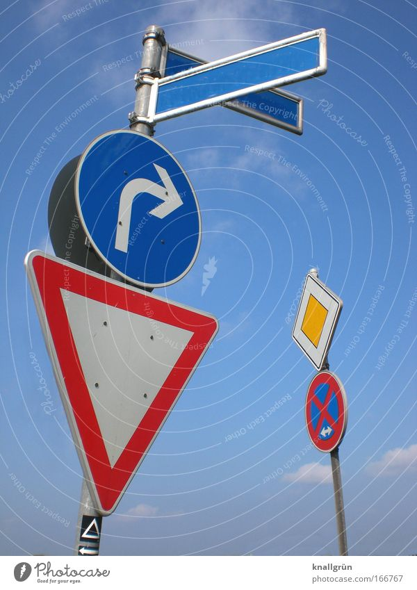 White Blue Red Yellow Laws and Regulations Metal Signs and labeling Transport Safety Arrangement Sign Signage Silver Bans Road sign Road sign