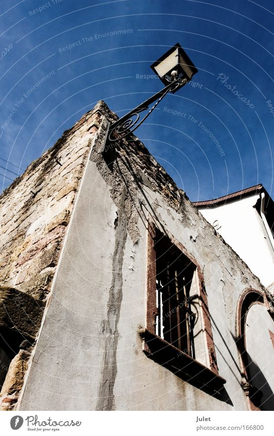 Old House (Residential Structure) Wall (building) Window Wall (barrier) Building Dirty Facade Adventure Authentic Village Creepy Bizarre Sharp-edged Old town