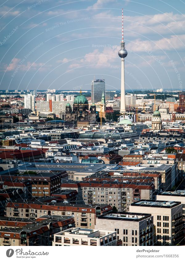 Berlin has a skyline! Vacation & Travel Tourism Trip Adventure Sightseeing City trip Capital city Downtown Tower Tourist Attraction Landmark Monument Emotions