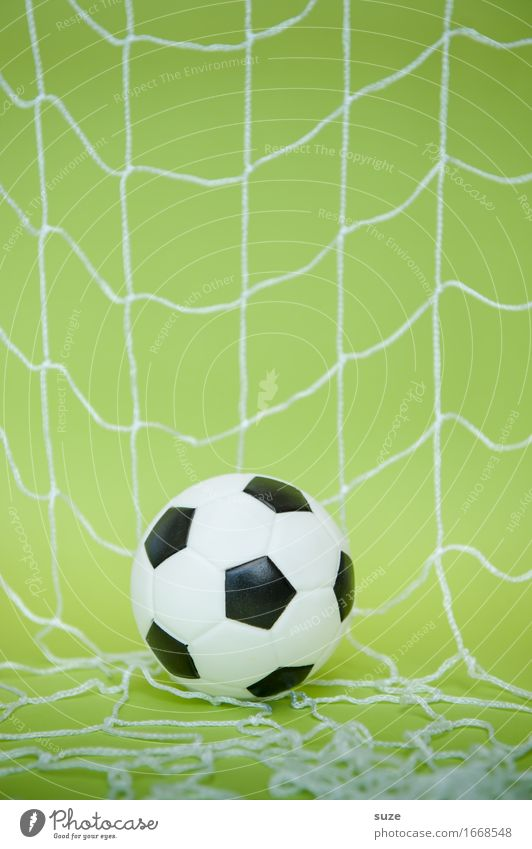 folly Design Joy Leisure and hobbies Playing Feasts & Celebrations Sports Ball sports Sporting event Success Soccer Foot ball Football pitch Leather Net Network