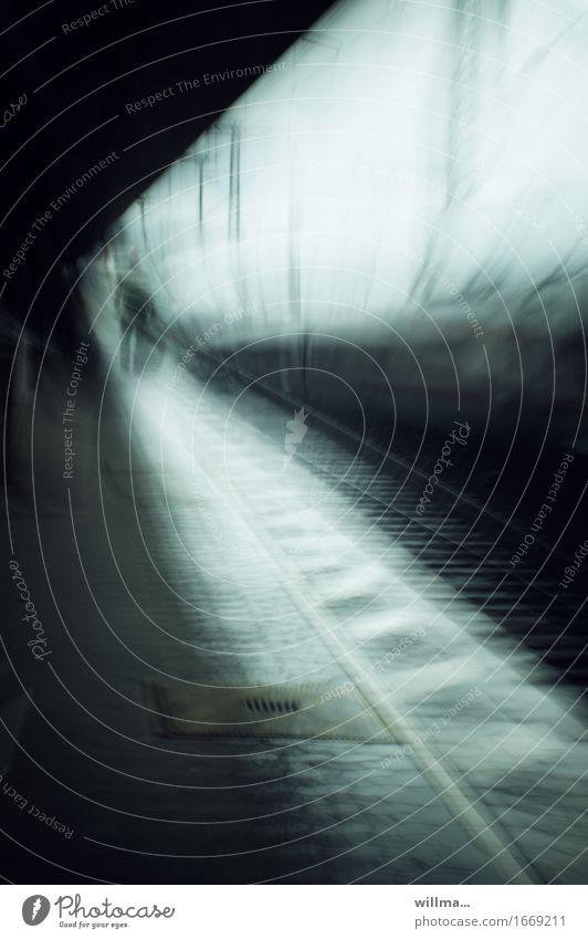 Human being Vacation & Travel Green Black Travel photography Dream Trip Platform Train travel