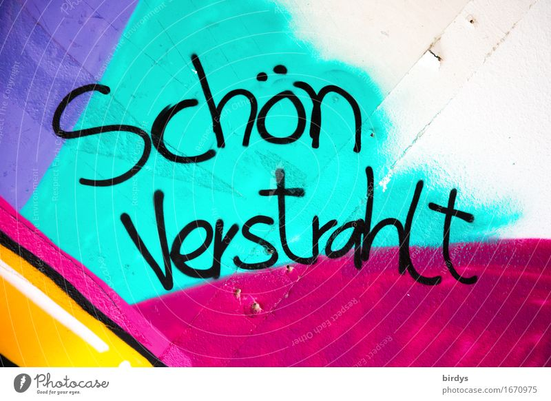radiant sound Youth culture Characters Graffiti Illuminate Esthetic Exceptional Brash Crazy Trashy Multicoloured Emotions Vice Stress Uniqueness Moral