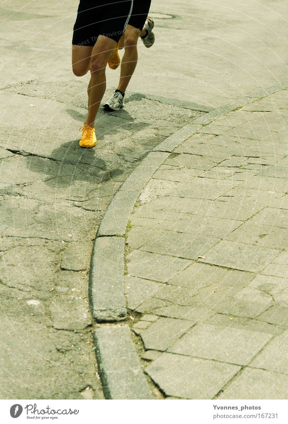 In step Colour photo Multicoloured Exterior shot Day Shadow Healthy Leisure and hobbies Sports Fitness Sports Training Sportsperson Sporting event Success