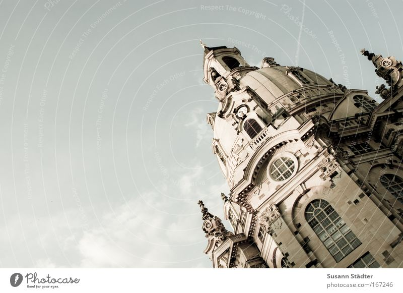 Dresden Vacation & Travel Calm Freedom Architecture Places Tourism Church Manmade structures Harmonious Dome Tourist Attraction Sightseeing Wisdom Marketplace