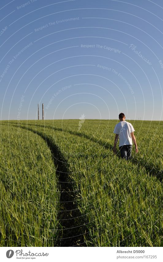 Human being Nature Blue Youth (Young adults) Green White Plant Black Adults Life Gray Lanes & trails Think Dream Field