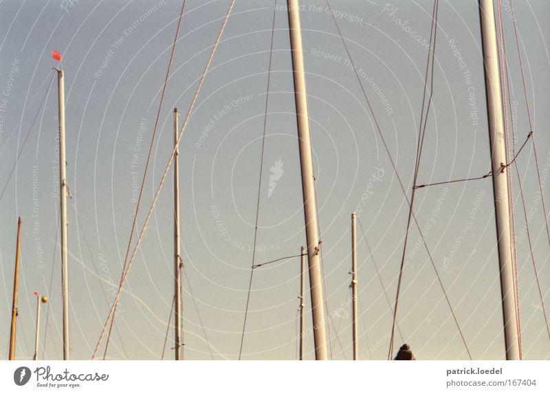 Sky Summer Trip Adventure Rope Harbour Analog Navigation Sailing Fishing (Angle) Mast Sailboat Elbe Aquatics Cruise Port City