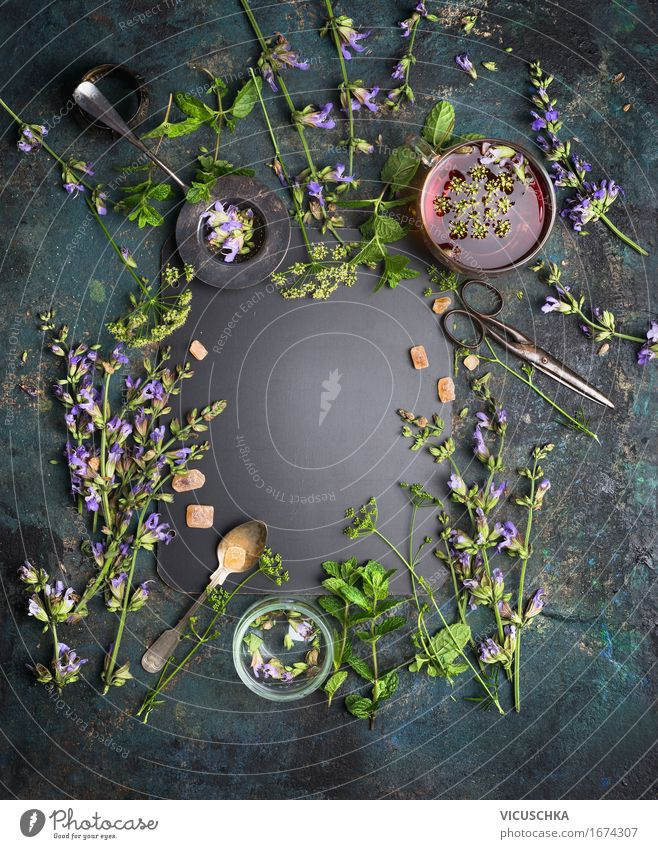 Nature Plant Healthy Eating Life Style Food Design Living or residing Table Fitness Herbs and spices Beverage Fragrance Tea Cup
